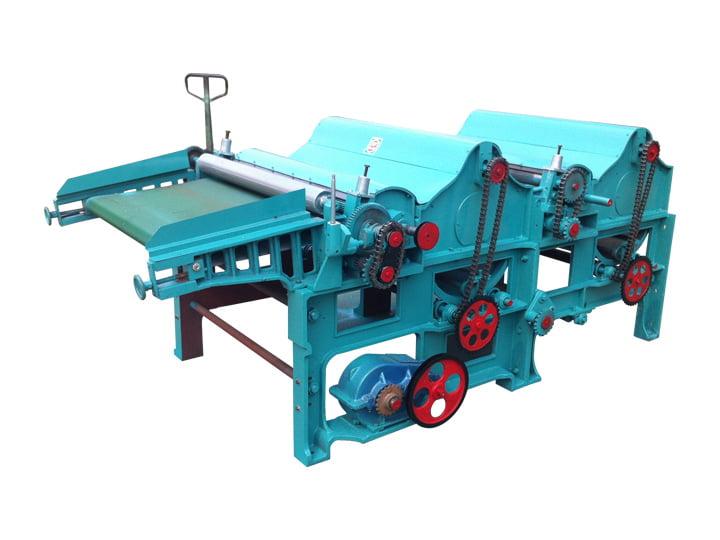 Waste textile fiber recycling machine