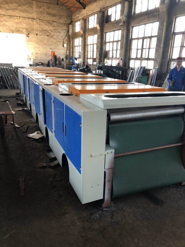 Machine cover can be provided as required