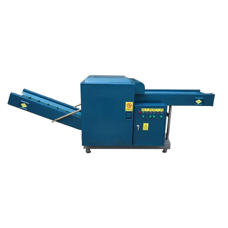 Textile fiber shredding machine
