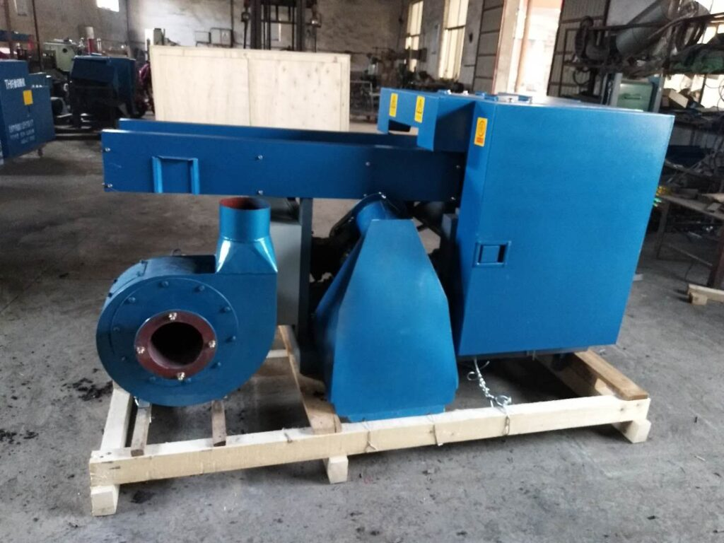 Cloth waste cutting machine ready for delivery
