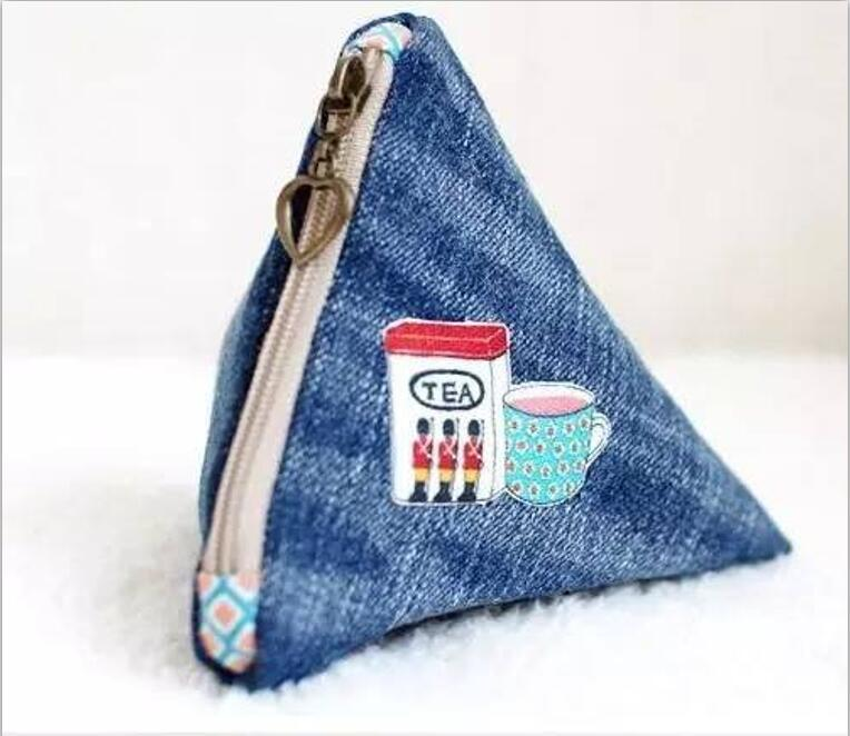 Creative products made of jeans