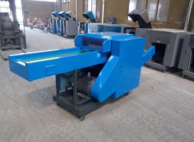 Jeans waste cutting machine